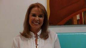 Marta Volpiani, a dubladora de Dona Florinda (Foto: Reprodução/Facebook)