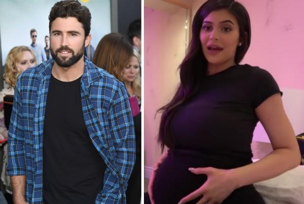 Brody Jenner e sua irmã, Kylie Jenner, quando estava grávida (Foto: Getty Images/Reprodução)