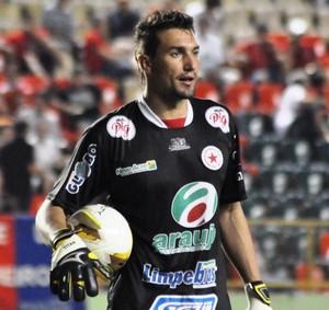 Tiago Rocha, goleiro do Rio Branco (Foto: Manoel Façanha/Arquivo pessoal)