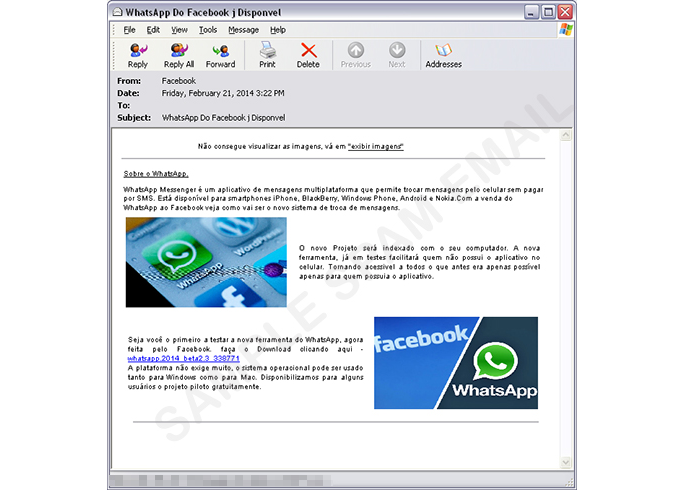 Vírus se disfarça de WhatsApp para PC (Foto: Divulgação/TrendMicro)