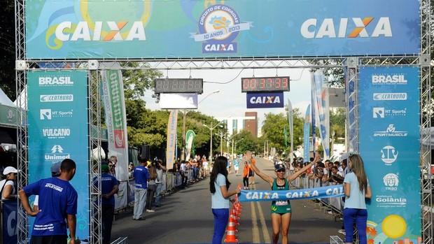 Conceição Oliveira, segunda colocada no ranking de corrida de rua (Foto: Reprodução/Facebook)