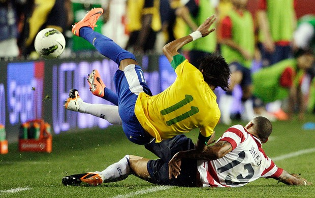 Estados Unidos x Brasil, Neymar (Foto: Agncia Reuters)
