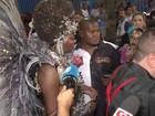 Assédio a Vivi Araújo e Ludmilla gera tumulto antes de Salgueiro desfilar