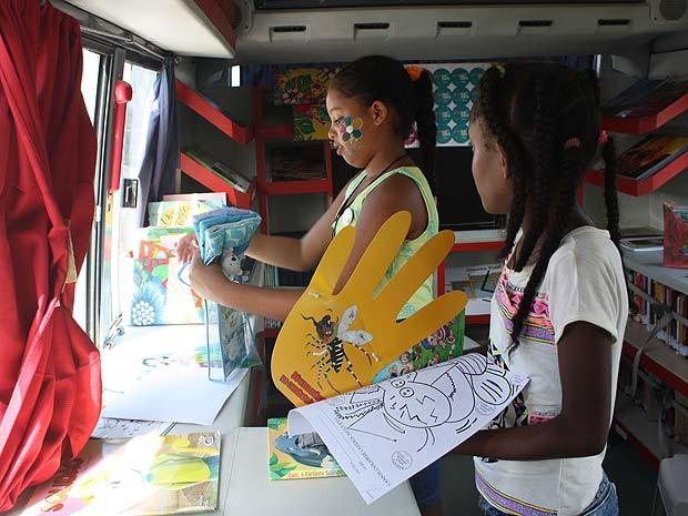 Fundação Pedro Calmon leva biblioteca móvel à Festa Literária Internacional (Flica)  (Foto: Divulgação/ Fundação Pedro Calmon)