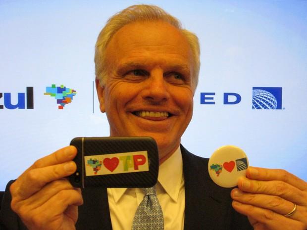 CEO e fundador da Azul, David Neeleman (Foto: Darlan Alvarenga/G1)