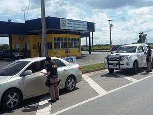 Operação  iniciou nesta quinta-feira (30) nas áreas de fronteira de Roraima (Foto: Divulgação/ PRF)