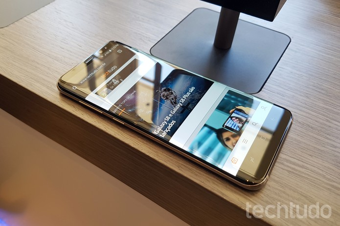 Galaxy S8 (Foto: Thássius Veloso/TechTudo)