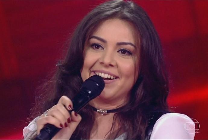 Fernanda Silva é a representante de Rondônia no The Voice Brasil (Foto: The Voice Brasil)