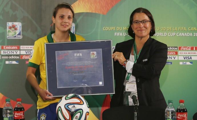 Djenifer Becker futebol feminino (Foto: Rafael Ribeiro/CBF)