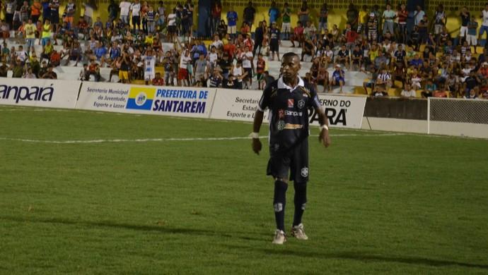 Buiu, autor do gol do São Francisco em estreia contra o Remo (Foto: Dominique Cavaleiro/ GloboEsporte.com)