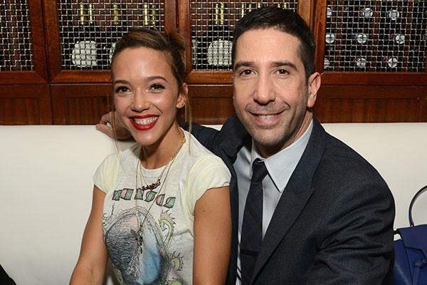 David Schwimmer e Zoe Buckman (Foto: Getty Images)