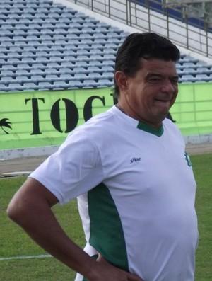 Julio Araújo, técnico do Icasa (Foto: Silas Batista)