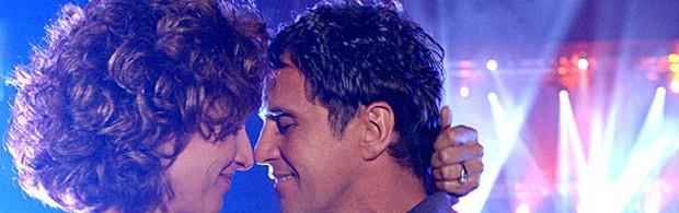 Jatobá (Marcos Frota) e Vera (Totia Meirelles) em 'América' (Foto: Divulgação/TV Globo)