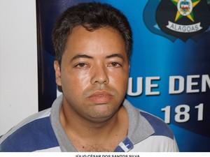 Julio César é suseito de vários crimes. (Foto: Divulgação/ Ascom PC)