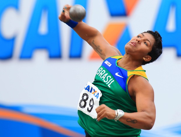 Geisa Arcanjo Sul-Americano Atletismo (Foto: Wagner Carmo/CBAt)