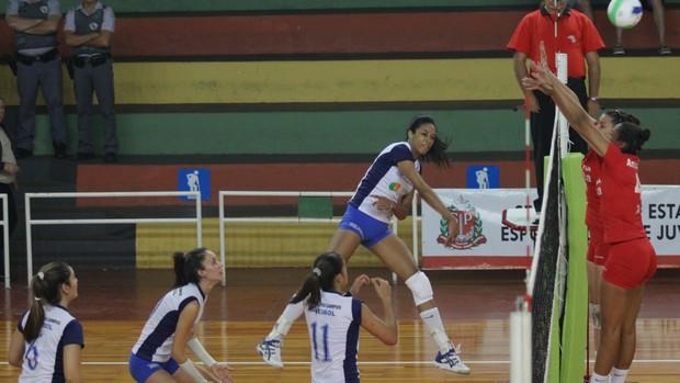 São José vôlei Jogos Abertos Bauru (Foto: Antonio Basílio/ Divulgação PMSJC)