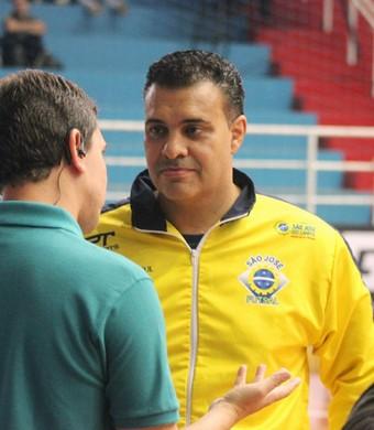 Lucas Chioro São José Futsal (Foto: Brenno Domingues / Quarttus Marketing)