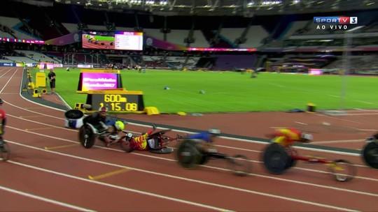 Após acidente, IPC anula prova, remarca final e elimina britânico do Mundial