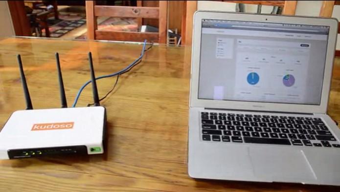 Kudoso conectado ao computador (Foto: Reprodução/Kickstarter)