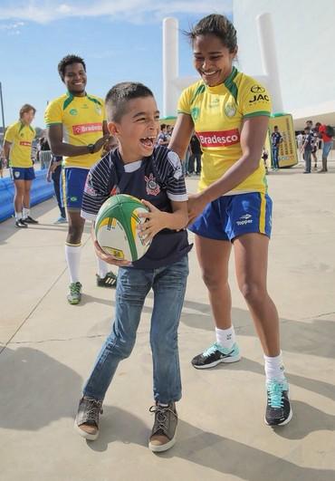 Patrícia Carvalho Delta Rugby (Foto: Foto Jump)