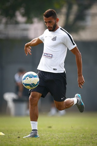 Thiago Maia, volante do Santos (Foto: Ricardo Saibun / Santos FC)
