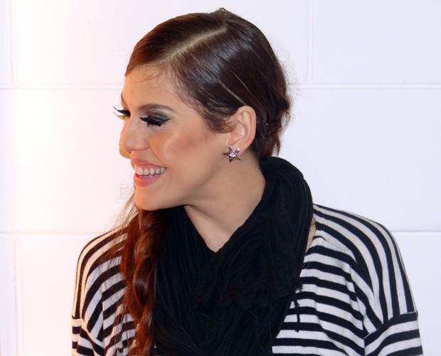 Bárbara Paz (Foto: Domingão do Faustão / TV Globo)