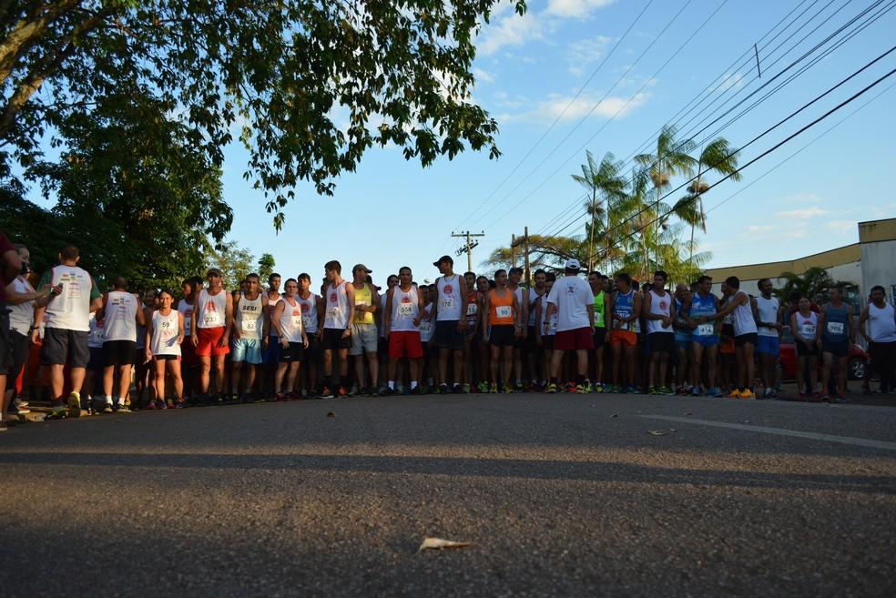 Corrida do Fogo, em RO, vai para 16ª edição (Foto: Daniele Lira)