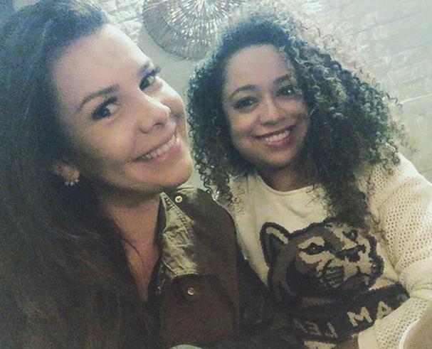 Fernanda Souza e Aretha Oliveira (Foto: Reprodução/Instagram)