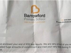 Mensagem de escola a alunos se tornou viral na internet (Foto: BBC)