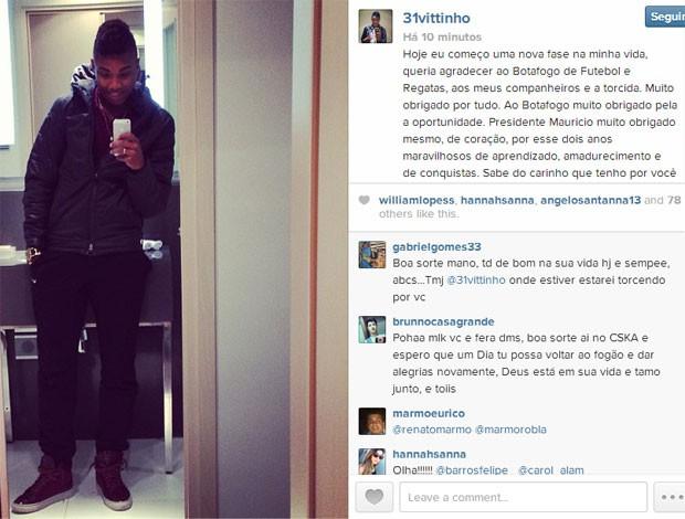 Vitinho Instagram (Foto: Reprodução / Instagram)