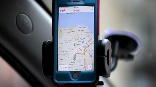 Lyft: app concorre com o Uber (Foto: Reuters)