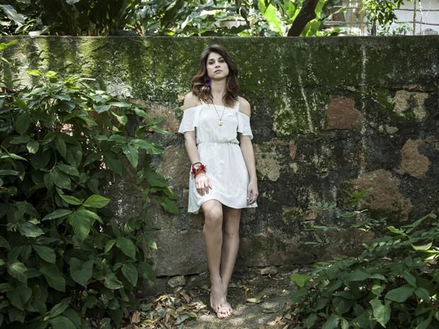 Atriz mostra toda sua beleza e carisma em dia de ensaio exclusivo do Gshow (Foto: Marcelo Correa)