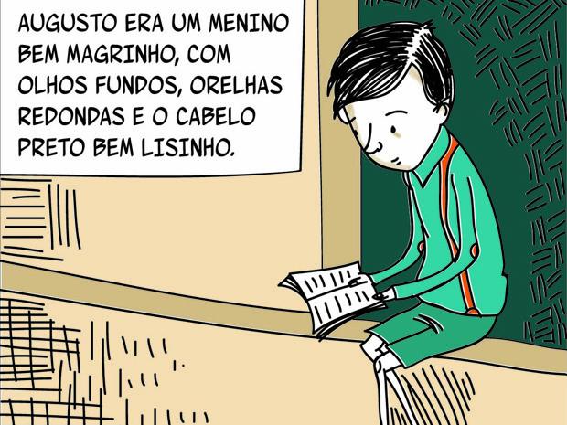 'Augusto dos Anjos em Quadrinhos' é feito para o público infantil (Foto: Divulgação)