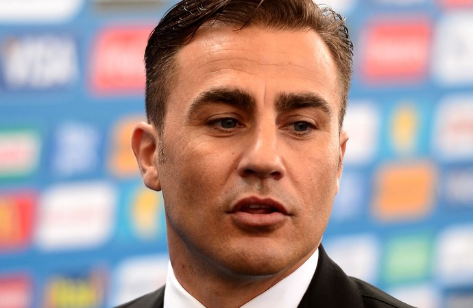 Fabio Cannavaro sorteio Copa do Mundo (Foto: Getty Images)