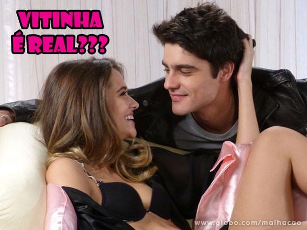 Isso é pesadelo do Bruno? Não perde Malhação na segunda-feira pra descobrir! (Foto: Malhação / Tv Globo)