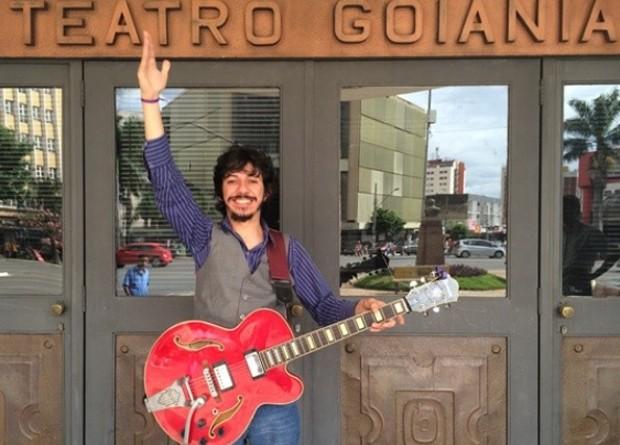 Músico goiano Diego de Moraes volta a fazer shows em Goiânia (Foto: Vitor Reis/G1)