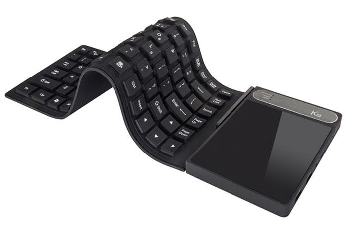 Vensmile K8 parece apenas um teclado flexível, mas traz dentro um mini PC (Foto: Divulgação/Vensmile)