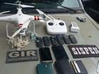 MP denuncia membros de facção por usarem drone dentro de presídio