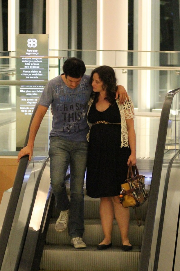 Mateus Solano e Paula Braun (Foto: Fabio Moreno / AgNews)
