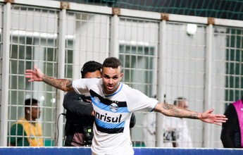 Lédio exalta aula do Grêmio e atuação exuberante de Luan diante do Galo