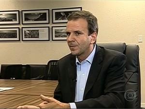 Paes sobre passagens: Temos que estar abertos a todas as possibilidades (Foto: Reprodução / TV Globo)