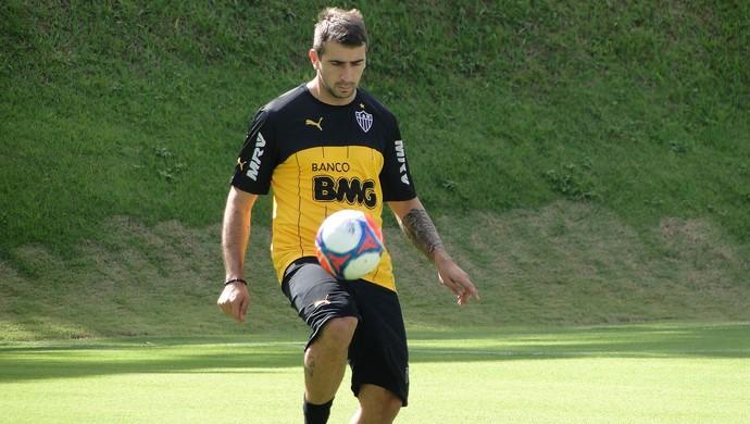 Lucas Pratto no Atlético-MG (Foto: Fernando Martins Y Miguel)