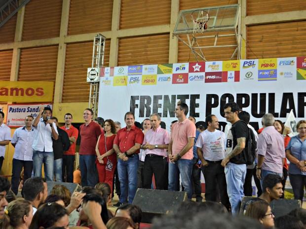 Marcus Alexandre foi anunciado como candidato da FPA nesta sexta-feira (22)  (Foto: Aline Nascimento/G1)