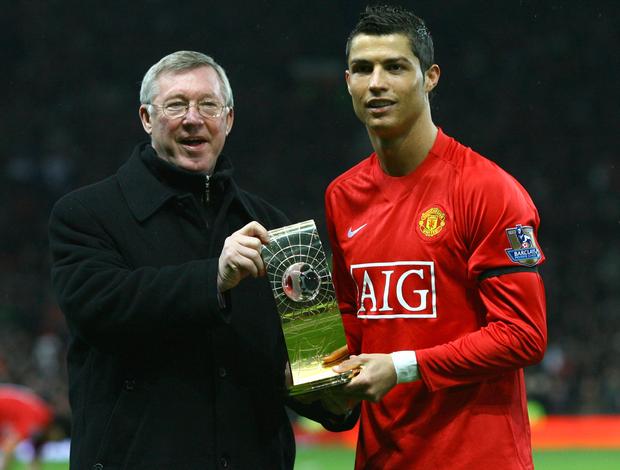 Alex Ferguson Cristiano Ronaldo Manchester United (Foto: Getty Images)