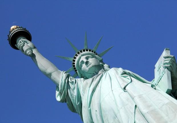 Estátua da Liberdade em Nova York, nos EUA (Foto: Thinkstock)