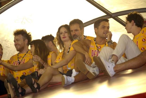 Ricardo Waddington e namorada (Foto: Cleomir Tavares/Divulgação)