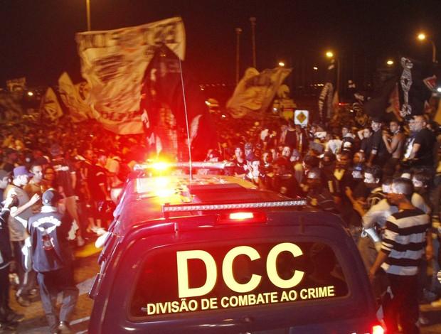 Torcida do Corinthians (Foto: Gustavo Tilio)
