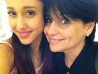 Mãe de Ariana Grande fala no Twitter sobre show em SP em dia do ENEM