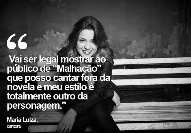 Maria Luiza (Foto: Divulgação)