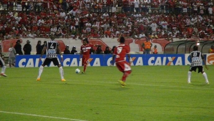 CRB x Botafogo-PB, em Maceió (Foto: Denison Roma/ GloboEsporte.com)